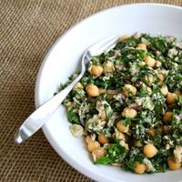 "Lemon Garbanzo Kale Salad. This is a very meaty salad. Not sure I'd serve to guests...but I will make for hubby and myself again�€""to add our salad repertoire. And by the way...after eating this, I am FULL. #salad #kale #southbeach http://w..."