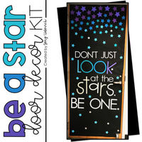 Don't just look at the stars be one