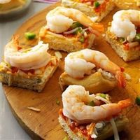 """At our house, these delicious shrimp squares are a must during family movie and game nights. �€""""Ardyce Piehl, Poynette, Wisconsin"""