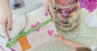 Because I Love You Sew by Trish Preston -- Don't just say it ... sew it! This charming collection of 17 projects lets everyone in your life know how much you love them. Make quilts, stylish totes, pretty holiday decor, and more! With patterns for al...