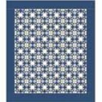 Moonlight Stars: FREE Classic One-Block Bed Quilt Pattern from McCall's Quick Quilts August/September 2013