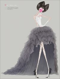 Janomica fashion illustration
