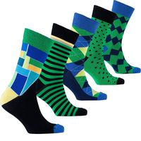 Men's Emerald Mix Set Socks $35.00