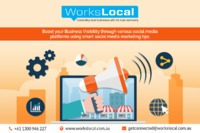 Workslocal is the best local area marketing agency in Australia, specializes for their creative marketing tips and advertising services. Their experts' team helps you to improve leads and increase your business presence on the internet and local are...