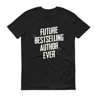 Men's Future Bestselling Author Ever tshirt Author gift $24.00