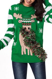 Pavacat Christmas Coloured Ribbon Sweater $32.99