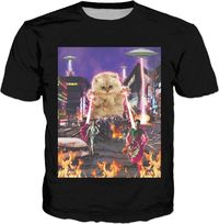 The Kitten No One Loved Tokyo Classic T-Shirt $19.99