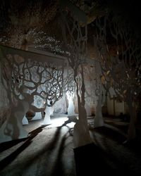 The potential of the dank manmade caverns beneath Waterloo station was realised by theatre company Punchdrunk and the Old Vic in 2009, when a series of interact