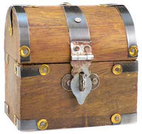 """Dome Chest 3"""" X 3"""" $6.95 http://www.theancientsage.com"""