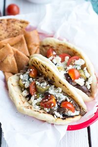 Easy Traditional Greek Gyros   halfbakedharvest.com OOOOOooooohhhhhh ~ this includes the Tzatziki sauce too! and an olive tapinade. the pitas from Costco are perfect if you don't have time to make your own.