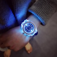 led Flash Luminous Watch Personality trends students lovers jellies woman men's watches 7 color light WristWatch 10 $53.68 zhif.myshopify.com