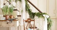 Decorate your home for the holidays with these festive Christmas garland and swag ideas. We have classic garlands for banisters, mantels, windows, and doorways.