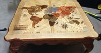 Source imgur.com 10. Risk Coffee Table This classic gaming beauty is a homemade design featured on imgur, complete with instructions. The basic map was traced o