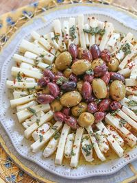 Entertaining doesn't have to be complicated. This easy marinated olives and cheese ring appetizer is beautiful and delicious. It is the perfect appetizer for th