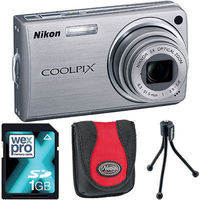 nikon S550 Silver Compact Camera with Bag, 1GB For a limited period, the silver Nikon S550 is available from Warehouse Express bundled with three fantastic accessories. You will receive a Tamrac compact digital camera bag worth 12.99, a 1GB SD Car http://...