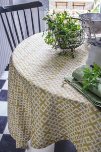 Tribu Wicker Tablecloth by Alexandre Turpault $193.00