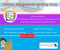 If you worry about your online assignment writing help. Visit our site assignmenthelpaus.com and get instant solutions about your assignment problems.