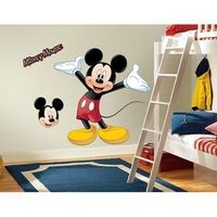RoomMates RMK1508GM Mickey & Friends - Mickey Mouse Peel & Stick Giant Wall Decal #mickey