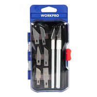 WORKPRO 8 in 1 Engraving Tools Set Hand Wood Carving Kni-fe Woodworking Tool