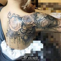 lace tattoo - Google Search More #shoulder tattoo sleeve