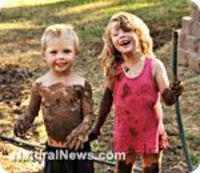 Children love dirt because they instinctively know it is good for them in order to grow up having strong immune systems. We can now relax and trust that our children will actually be healthier the dirtier they get. Take a deep breath and enjoy watching th...