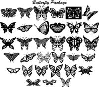 Butterfly Ornaments Decor Just for: $24.90