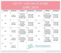 If you have been following along with my monthly beginner's workout series, it's time for June. If you have been doing this from the beginning, congratulations