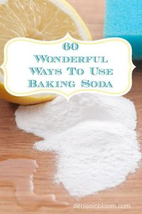 baking soda, baking and sodas.