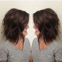 Layered bob haircuts are the best because they make you look younger and more beautiful. Layered bob hairstyles are one of the more popular choices for making f