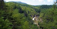 Linville Falls in Linville, NC - Magnificent waterfall and hiking trails!