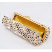 Women Cylindrical Hollow Out Evening Clutch Bag $154.05