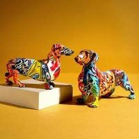 This Colourful dog statue is the ultimate expression of that love, especially if you have a soft spot for Dachshunds!