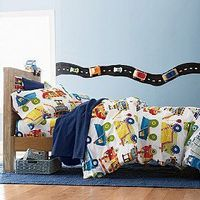 Big Dig Percale Bedding