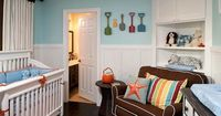 Find design ideas for tricking out baby nurseries from DIY Network.