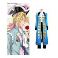 Axis Powers Hetalia France Blue Cosplay Costume