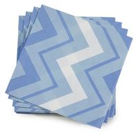 Denim Color Rock Paper Napkins by Le Jacquard Français $9.00