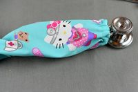 Stethoscope Cover Hello Kitty | Nurse Stethoscope Cord Cover | Handmade Nurse Doctor Gift | Stethoscope Sock | Stethoscope Accessories $10.99
