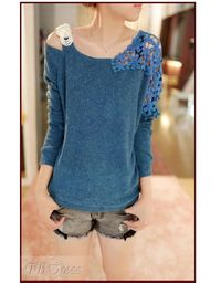 New Arrival Casual Style Long Sleeve Blouse