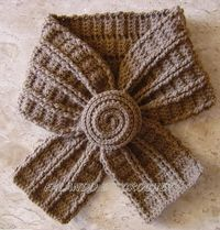 crochet scarf �™� �™� ... #inspiration #crochet #knit #diy GB