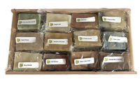 12 Piece Natural Soap Gift Sampler Set with Soap Saver Great Christmas, Housewarming, Thank You Or Teacher's Gift $24.00