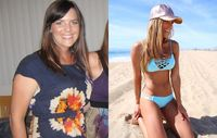 Katie Dunlop was able to lose more than 20 pounds in just six months.