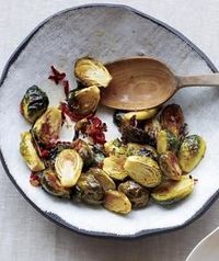 Give the sprouts a boost of sweet and spicy flavor with sliced chilies, fresh ginger, and honey. Get the recipe for Spicy Glazed Brussels Sprouts.
