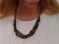 Ravelry: Adjustable Crocheted Necklace pattern by Laura Stone