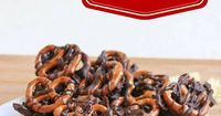 Chocolate Covered Pretzels meet Chocolate Covered Potato Chips to create Pretzel Chip Towers. Two loves combined into one fun treat.