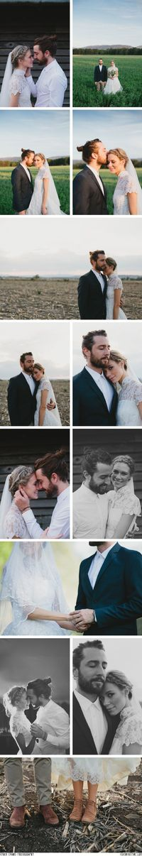 Ryder Evans Photography of Naomi and Caleb's wedding // FOXINTHEPINE.COM-- these two are adorable.
