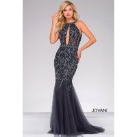 Jovani JVN33695 Backless Trumpet-Style Prom Gown - 2018 New Wedding Dresses