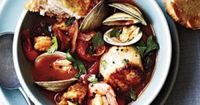 Our cioppino is easy to make and it features fresh Italian flavors such as basil, oregano, and tomatoes. If you already have it on hand, ...