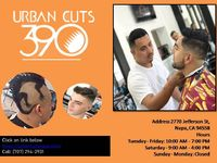 Urban Cuts in Napa provide Trendy Styles Haircutting services available at affordable prices. To know more about us click on link below: https://urbancutsnapa.com/ Call: (707) 294-2931