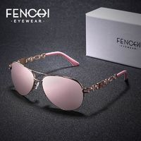 FENCHI Brand Sunglasses Women Mirror Fashion Pink Classic Female Sun Glasses For 2019 Outdoor Eyewear UV400 gafas de sol mujer $33.27