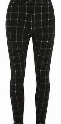 Dorothy Perkins Womens Black Windowpane Treggings- Black Black and white square check button up treggings. Length is 73cm. 97% Polyester, 3% Elastane. Machine washable. http://www.comparestoreprices.co.uk//dorothy-perkins-womens-black-windowpane-t...